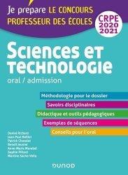 Sciences et technologie oral / admission