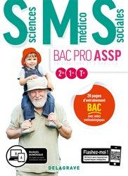 La couverture et les autres extraits de Ergonomie, Soins 2de, 1re, Tle Bac Pro ASSP (2015) - Pochette élève