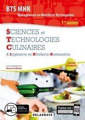 Sciences et Technologies Culinaires & Ingénierie en Hôtellerie-Restauration BTS MHR Management en Hôtellerie-Restauration 1re année