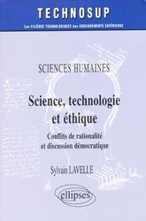 Science, technologie et éthique