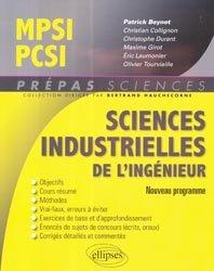 La couverture et les autres extraits de Formulaire  Mathématiques - Physique-Chimie -SII - MPSI-PCSI-PTSI / PSI