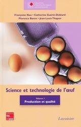 Science et technologie de l'oeuf Vol 1