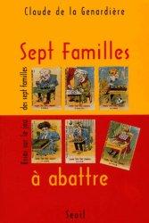 Sept Familles à abattre. Essai sur le jeu des sept familles