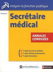 Secrétaire médical  - Catégorie C