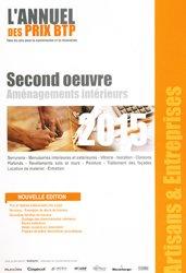 Second oeuvre Aménagements intérieurs 2015