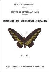 Séminaire Goulaouic - Meyer - Schwartz