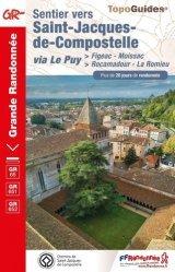 La couverture et les autres extraits de Sentier vers Saint-Jacques-de-Compostelle, Figeac-Moissac