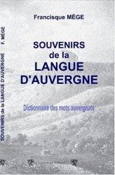 Souvenirs de la langue d'Auvergne