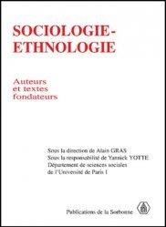 Sociologie-ethnologie