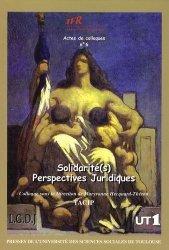 Solidarité (s). Perpectives juridiques