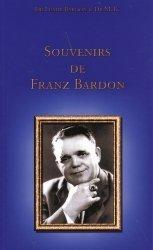 Souvenirs de Franz Bardon