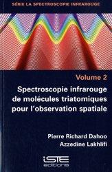Spectroscopie infrarouge de molécules triatomiques pour l'observation spatiale