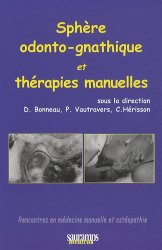 Sphère odonto-gnathique et thérapies manuelles