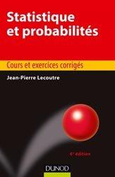 La couverture et les autres extraits de Probabilités et statistique
