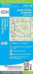 La couverture et les autres extraits de France format recto. 1/1 000 000, Edition 2020