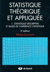 Statistique théorique et appliquée