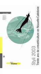 Styli 2003 Trente ans de crevetticulture en Nouvelle-Calédonie
