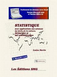 Statistique avec applications aux sciences du loisir, de la culture, du tourisme et des communications