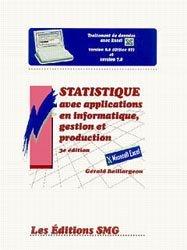 Statistique avec applications en informatique, gestion et production