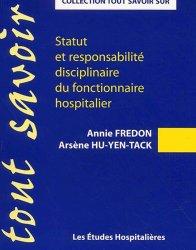 Statut et responsabilité disciplinaire du fonctionnaire hospitalier