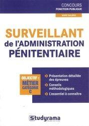 Surveillant de l'administration pénitentiaire