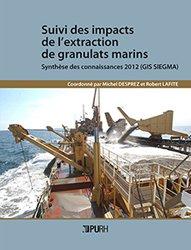 Suivi des impacts de l'extraction de granulats marins