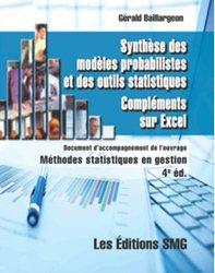 Synthèse des modéles probabilistes et des outils statistiques