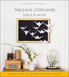 Tableaux d'origamis black & white