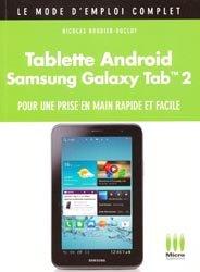 Tablette Androïd Samsung Galaxy Tab 2