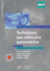 Techniques des véhicules automobiles BEP