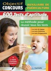 La couverture et les autres extraits de Auxiliaire de Puériculture : 1 000 tests d'aptitude
