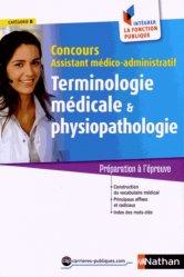 La couverture et les autres extraits de Terminologie médicale et physiopathologie