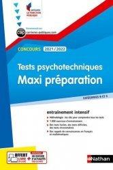 Tests psychotechniques - Maxi préparation