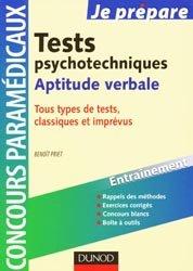Tests psychotechniques Aptitude verbale