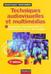 La couverture et les autres extraits de Techniques audiovisuelles et multimédias