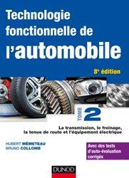 La couverture et les autres extraits de Technologie fonctionnelle de l'automobile Tome 1