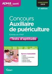 La couverture et les autres extraits de Objectif Concours 2020 Auxiliaire de Puériculture : 1 000 tests d'aptitude