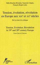 Tension, évolution, révolution en Europe aux XIXe et XXe siècles