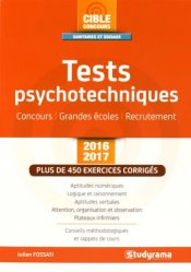 Tests psychotechniques 2016-2017