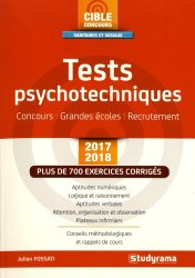 Tests psychotechniques 2017-2018