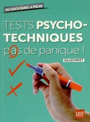La couverture et les autres extraits de Tests psychotechniques de difficulté progressive