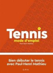 Tennis mode d'emploi