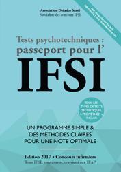La couverture et les autres extraits de Les tests d'aptitude au concours IFSI 2016