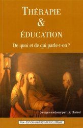 Thérapie et éducation