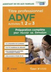 Titre professionnel ADVF - Activités 1 à 3