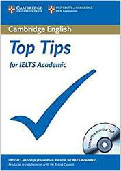 Top Tips for IELTS Academic - Paperback with CD-ROM