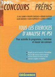 La couverture et les autres extraits de Physique au concours d'entrée Masseur-kinésithérapie