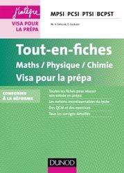 Tout-en-fiches Maths-Physique-Chimie