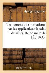 Traitement du rhumatisme par les applications locales de salicylate de méthyle