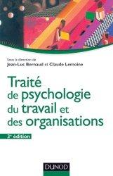 Traité de psychologie du travail et des organisations